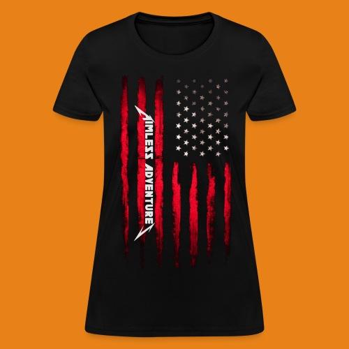 Scars & Stripes - Women's 100% Cotton - Women's T-Shirt