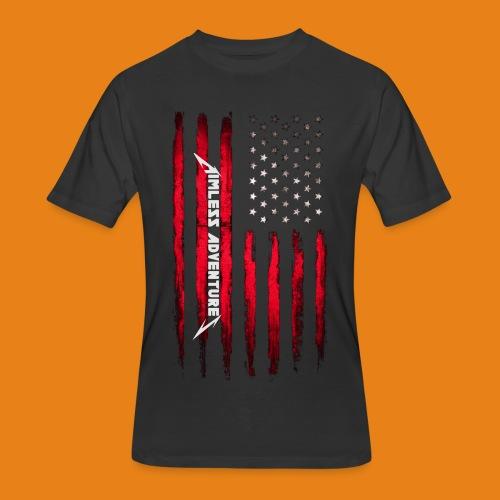 Scars & Stripes - Men's 50/50 - Men's 50/50 T-Shirt