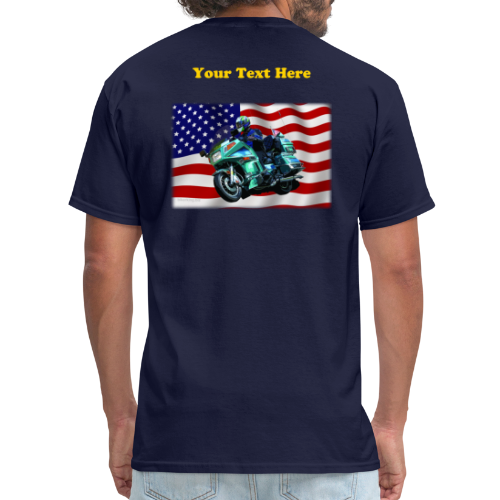 Men's T Back FlagVoy Custom - Men's T-Shirt