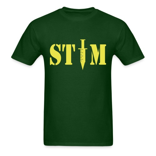 STIM - Men's Green T - Men's T-Shirt