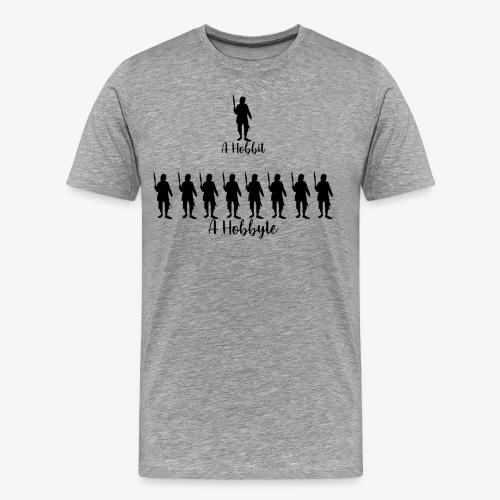 Men's A hobbit, A hobbyte - Men's Premium T-Shirt