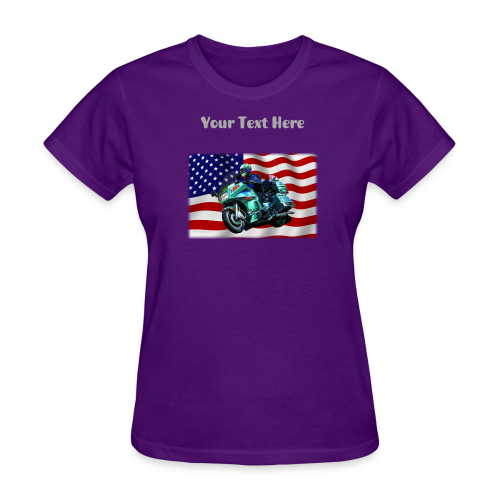 Ladies T Front FlagVoy Custom - Women's T-Shirt