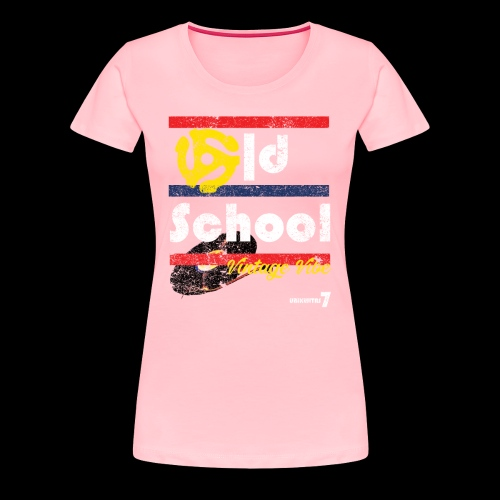 U7 Vintage Vibe (Double Sided Design) - Women's Premium T-Shirt