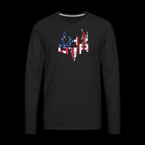 Kids Flag - Men's Premium Long Sleeve T-Shirt