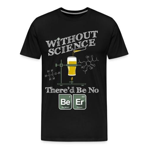 The Science of Beer - Men's Premium T-Shirt