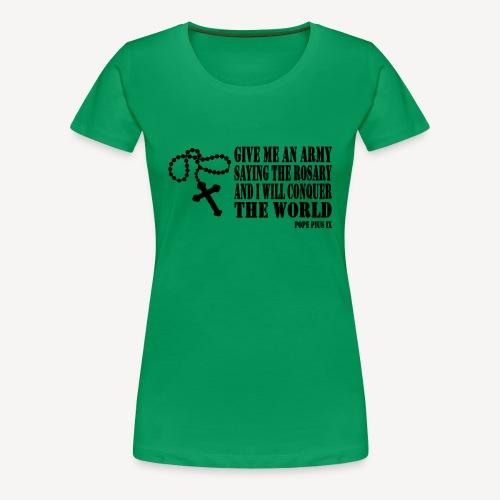 ROSARY ARMY - Women's Premium T-Shirt