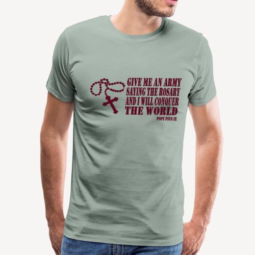 ROSARY ARMY - Men's Premium T-Shirt