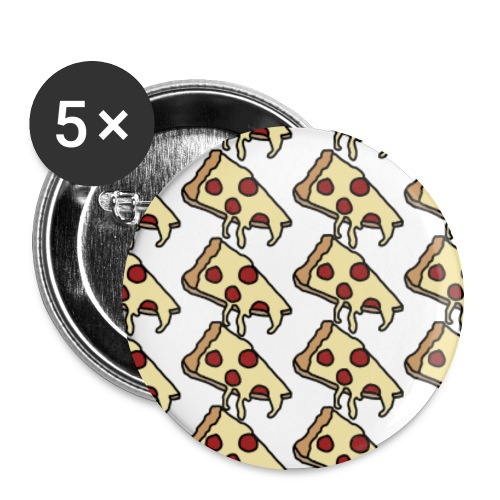 Pizza Party Pin - Large Buttons