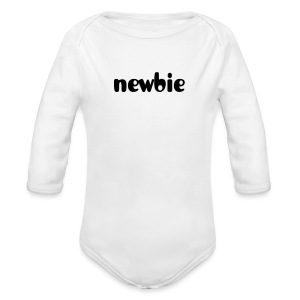 Newbie baby  long sleeve one piece - Long Sleeve Baby Bodysuit