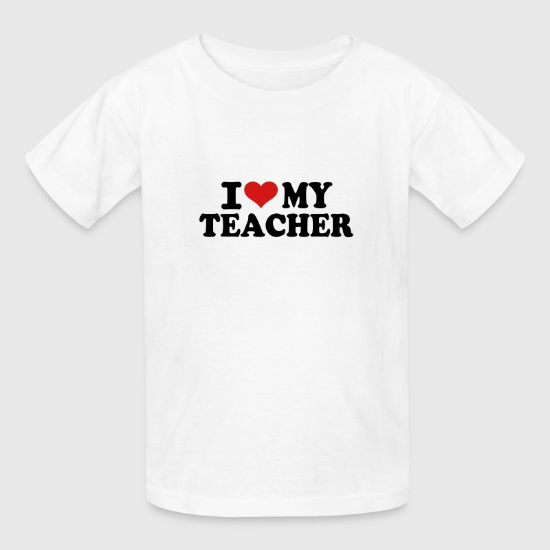 I love my Teacher Kids' Shirts - Kids' T-Shirt