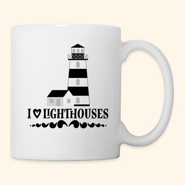 Lighthouse Nautical Ocean Seaside Themed Mug