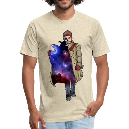 Universal Truth Mens Fitted Tee - Fitted Cotton/Poly T-Shirt by Next Level
