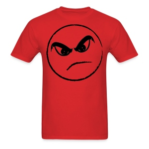 Live Evil Angry Face (Red) - Men's T-Shirt