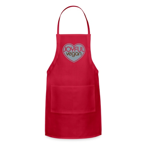 Joyful Vegan Apron - Adjustable Apron