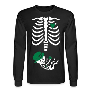 St. Patricks Maternity (non-maternity shirt) - Men's Long Sleeve T-Shirt