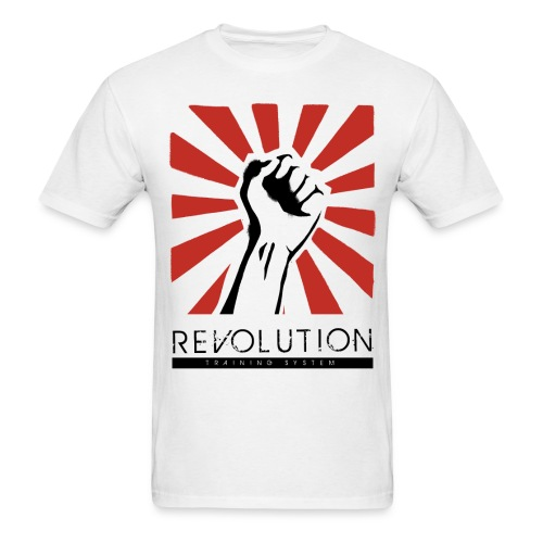 Revolution Training Full Logo - Men's T-Shirt