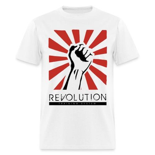 Revolution Training Full Logo - Men's T-Shirt