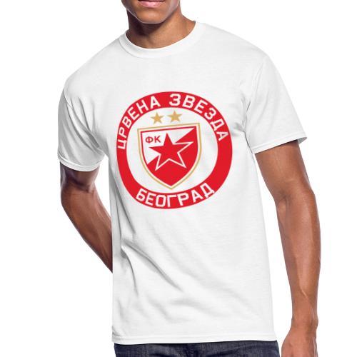Crvena Zvezda - Men's 50/50 T-Shirt