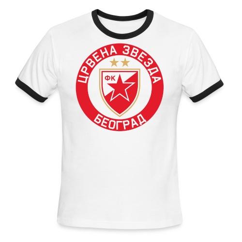 Crvena Zvezda - Men's Ringer T-Shirt