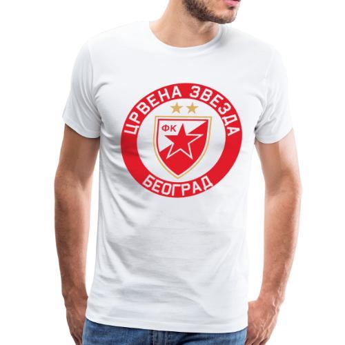 Crvena Zvezda - Men's Premium T-Shirt