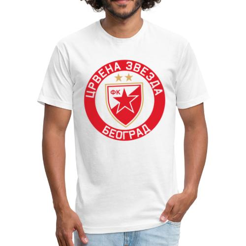 Crvena Zvezda - Fitted Cotton/Poly T-Shirt by Next Level