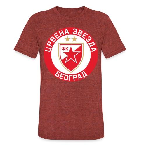 Crvena Zvezda - Unisex Tri-Blend T-Shirt