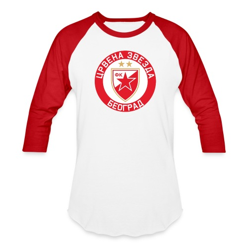 Crvena Zvezda - Baseball T-Shirt
