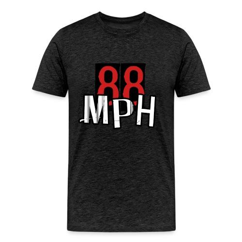 88MPH Vertical Tee - Men's Premium T-Shirt