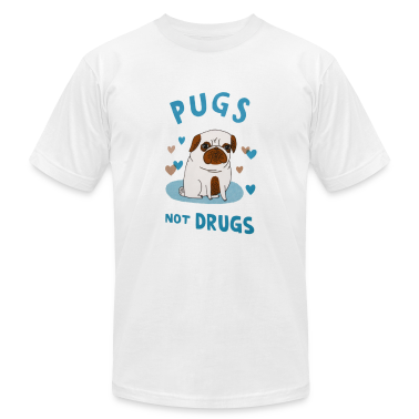 Pugs. Not drugs. T-Shirts