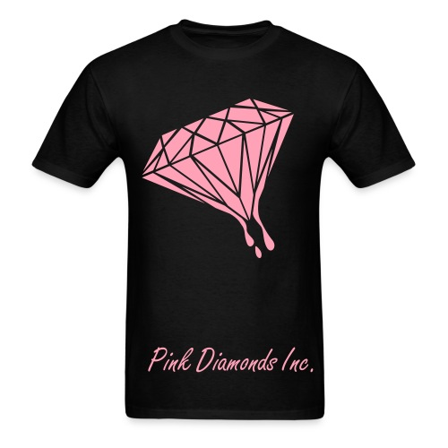 Dripping Diamond T-Shirt - Men's T-Shirt