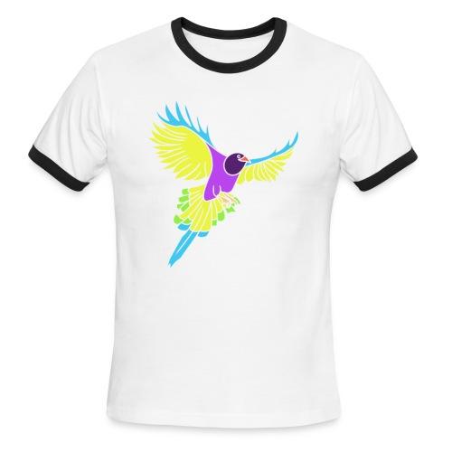 Flying Bird  - Men's Ringer T-Shirt