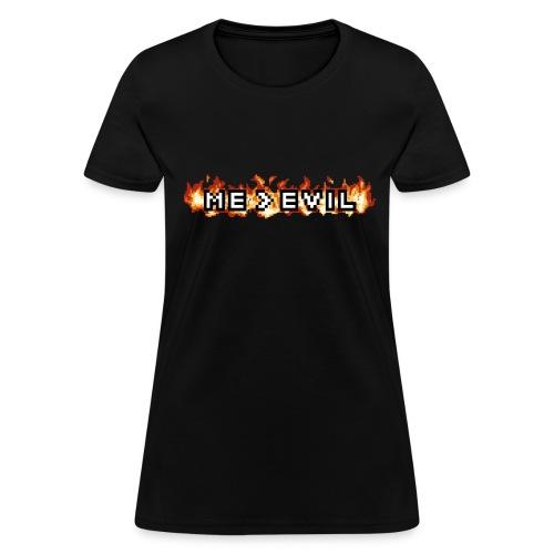 ME v EVIL Women's T-shirt - Women's T-Shirt