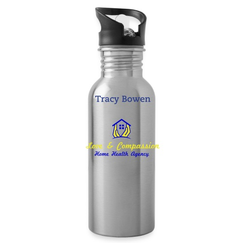Love & Compassion Water Bottle Tracy - Water Bottle