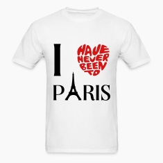 never been paris T-Shirts