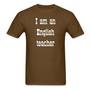 English teacher shirt - Men's T-Shirt