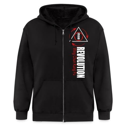 Revolution Zipper Hoodie Style 2 No Back Logo - Men's Zip Hoodie