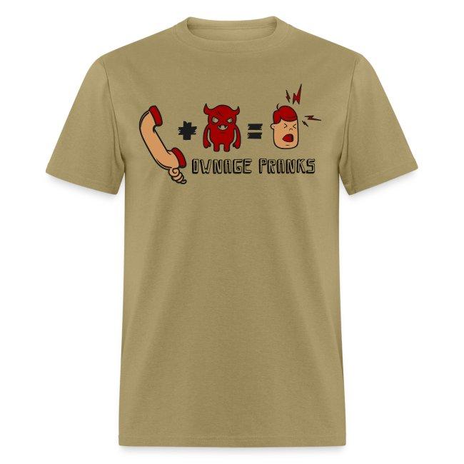 Ownage Pranks Formula Shirt