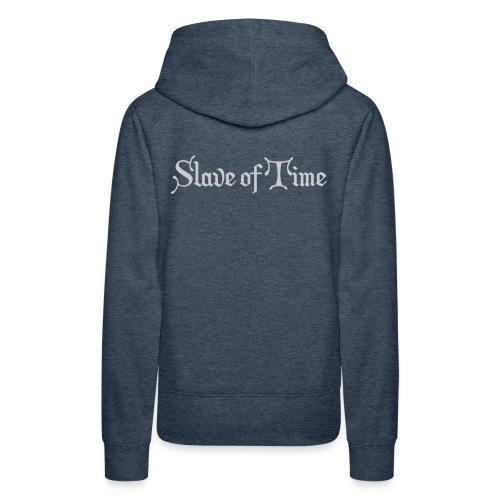 Slave of Time Hoodie - Women's Premium Hoodie