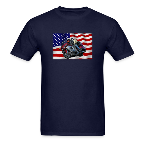Men's T Front FlagWing Lean - Men's T-Shirt