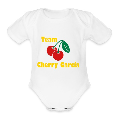 Cherry Garcia    - Short Sleeve Baby Bodysuit