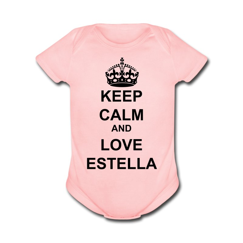 Team Estella   - Short Sleeve Baby Bodysuit