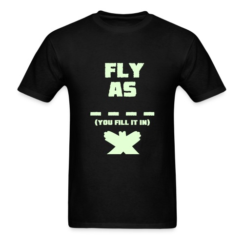 Fly as  - Men's T-Shirt