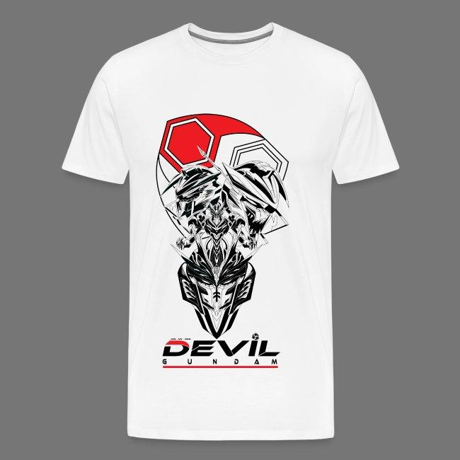 JDG-NX-666 Devil Gundam Men's Shirt   Men's Premium T-Shirt