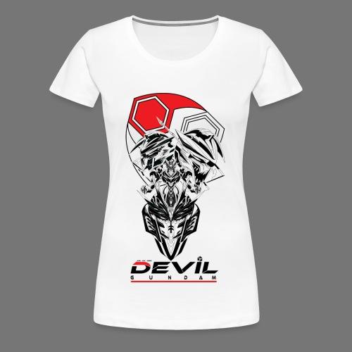 JDG-NX-666 Devil Gundam Women's Shirt - Women's Premium T-Shirt