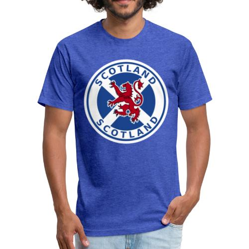 Scotland - Fitted Cotton/Poly T-Shirt by Next Level