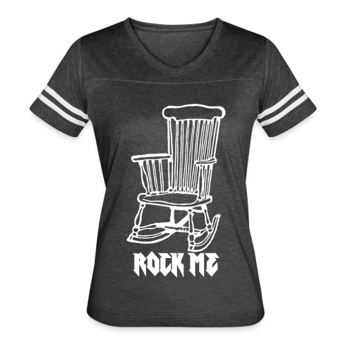 Rock Me [2] Women's Vintage Sports T-shirt - Women's Vintage Sport T-Shirt