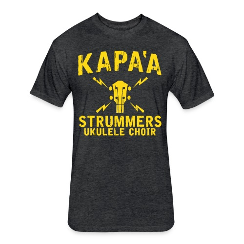 2017-2018 Kapa'a Strummers Shirt - Adult Premium Soft Cotton Blend - Fitted Cotton/Poly T-Shirt by Next Level