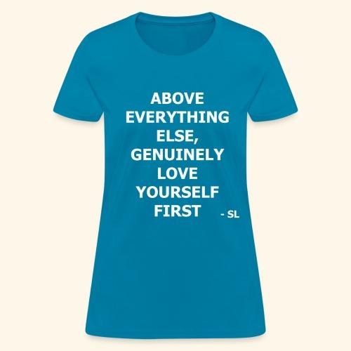 Self Love First T Shirt Teen Girl T Shirts By Lahart