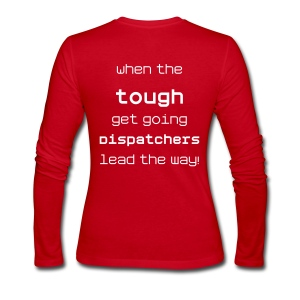 Dispatchers lead the way - Women's Long Sleeve Jersey T-Shirt