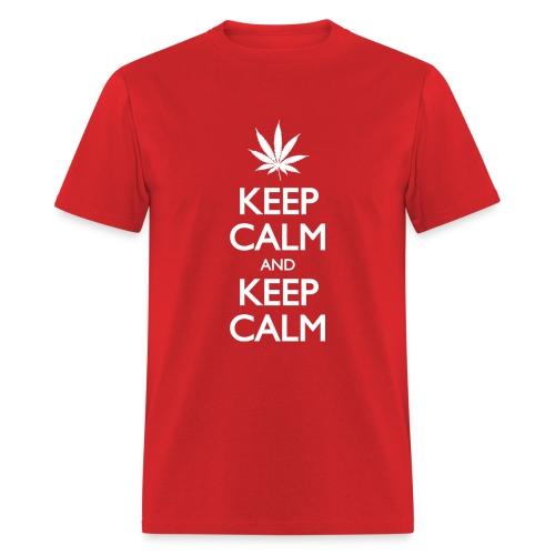 Keep Calm and Keep Calm - Men's T-Shirt